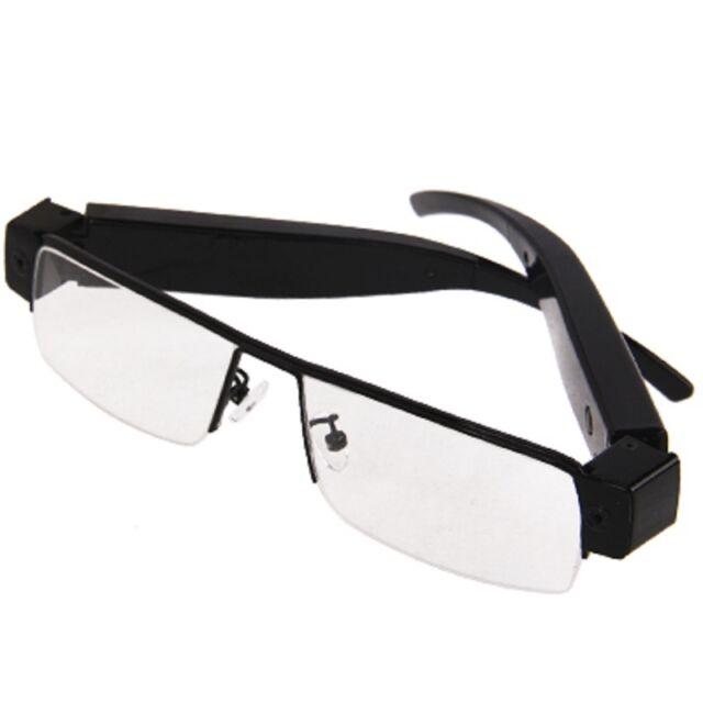 2gb Mini Full HD Hidden Camera Reading School Office Arbeit Goggles Espionage