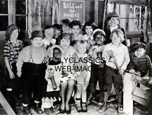 1927-OUR-GANG-LITTLE-RASCALS-amp-AGNES-AYRES-HAL-ROACH-MOVIE-PHOTO-CUTE-KIDS-CLUB