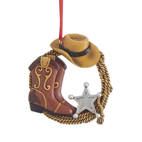 Western Sheriff Ornament