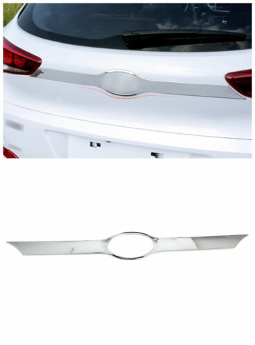Chrome Rear Trunk Tail Gate Door Lid Cover Trim 1pc for Hyundai Tucson 2016-2018