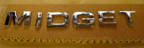 2 MG Midget Sill Panel Badge Lettering Sets 18G8761
