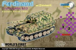 Dragon-Armor-60124-Ferdinand-w-Zimmerit-1-s-Pz-Jg-Abt-653-Orel-Eastern-Front