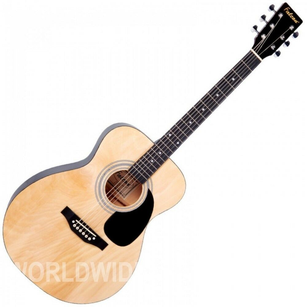 Falcon F300N Folk Style Acoustic Guitar Natural finish - Brand New