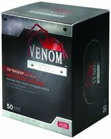 Medline Ven6045r Venom Steel Premium Industrial Nitrile Gloves, 50-pack , New, F on sale