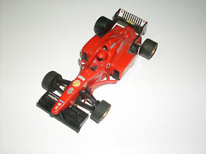 SLOT-CAR-AUTO-PISTE-ELETTRICHE-F1-CARTRONIC-FERRARI-06-NON-TEST-NO-TESTED