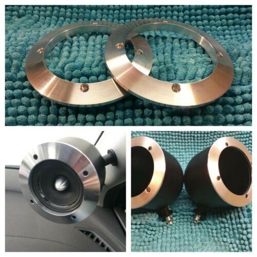 Rainbow germanio gl-m3 Carcasa Aluminio negra para mitteltöner Rainbow gl-m3