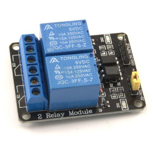 5V 1//2//8 channel relay board module pour arduino raspberry pi relais