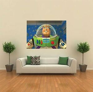 Toy Story Led Wall Light : BUZZ LIGHTYEAR TOY STORY NEW GIANT LARGE ART PRINT POSTER PICTURE WALL G323 eBay