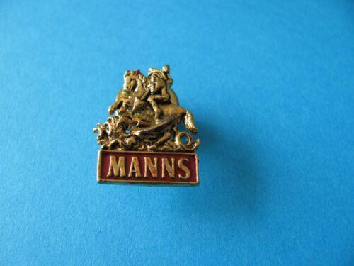 Unused. MANNS Beer Brewery Pin Badge
