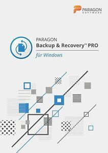 Paragon Backup & Recovery PRO / Windows / Key (ESD)