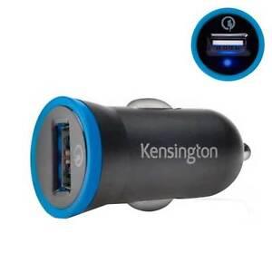Caricabatterie-2-4A-24W-auto-KENSINGTON-per-HTC-One-M7-M8-M9-A9-10-PB24