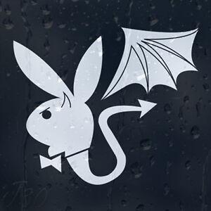 Funny-Play-Boy-Parody-Dragon-Bunny-Car-Decal-Vinyl-Sticker-For-Window-Bumper