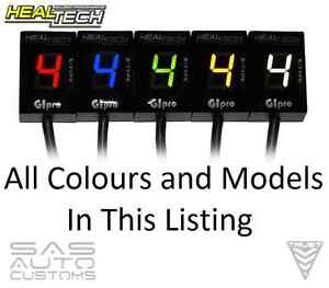 Healtech GIpro X-TYPE Gear Position Indicator GPX- ALL MODELS ALL COLOURS