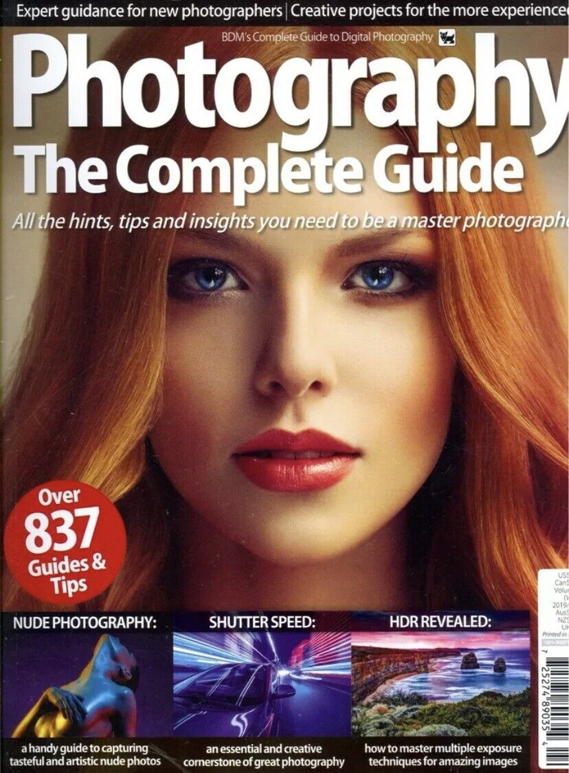 PHOTOGRAPHY The Complete Guide UK Magazine Winter 2019/2020 Digital Tips Hints 2