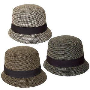 Bob-chapeau-cloche-motif-pied-de-poule