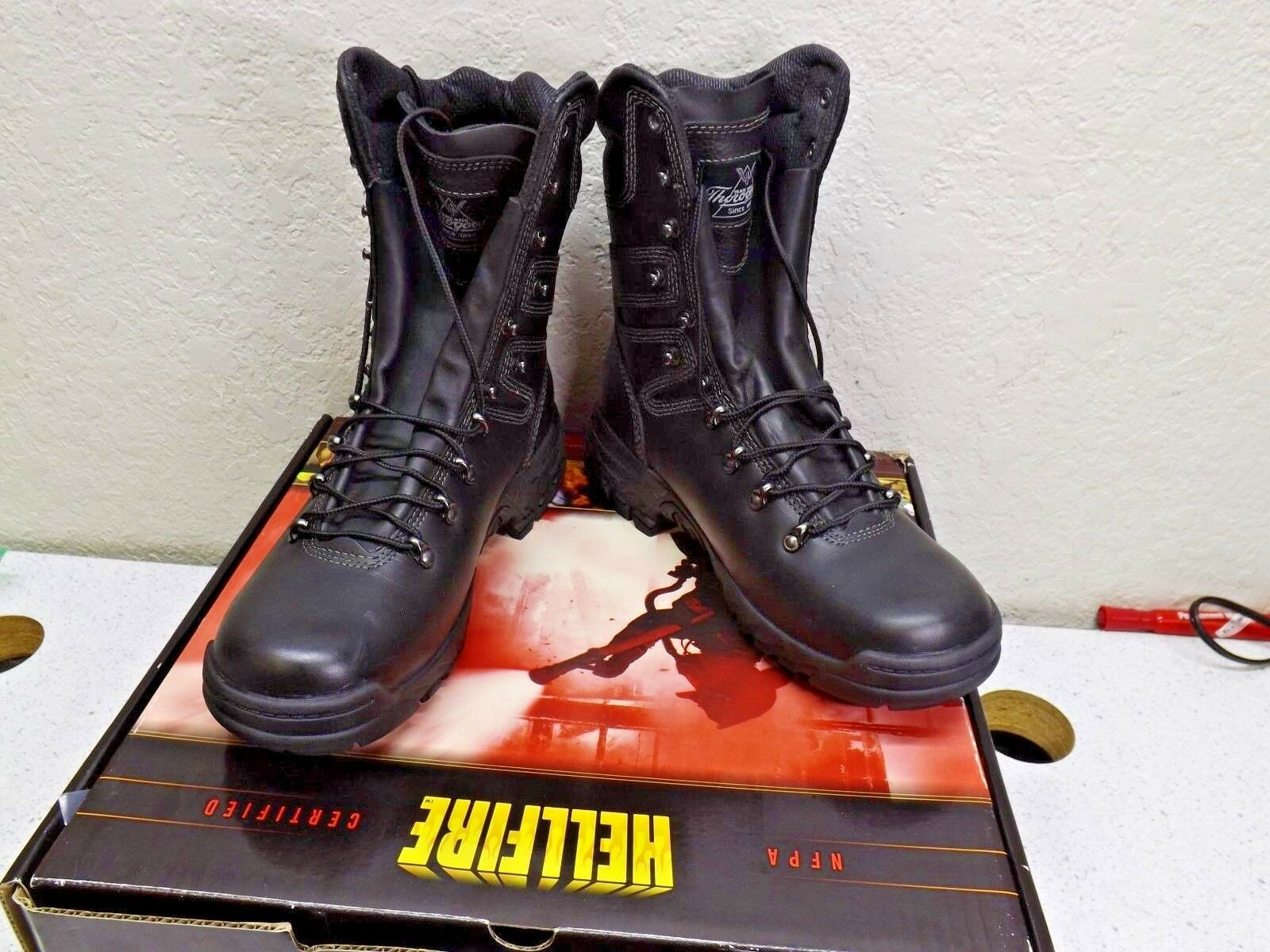 Thgoldgood Hellfire 9  NFPA 834-6383 Elite Wildland Hiking Fire-fighting Boot 10W