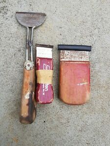 Vintage-SKARSTEN-Hook-Scrapers-and-Rare-stripper-hook