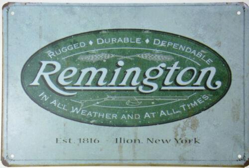 "Remington Est1816 USA Cartridges Gun Rifle Shells Retro Metal Tin Sign 8x12/"" NEW"
