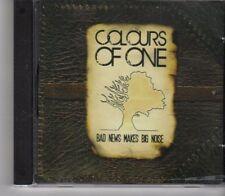 (GA468) Colours Of One, Bad News Makes Big Noise - 2009 CD