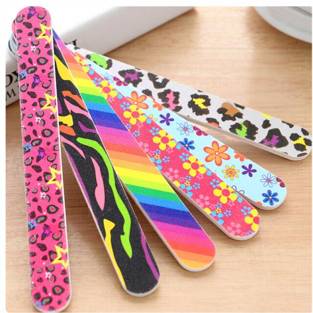 Nail Art File Buffer Buffing Block Set for Sanding Manicure Pedicure Tool 2/5/10