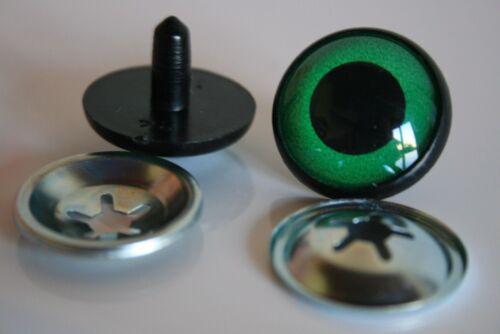 Safety eyes 16 mm green stuffed animal toys amigurumi crafts teddy bear