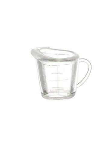 Dolls House Small Clear Measuring Jug 1:12 Scale Miniature Kitchen Accessory