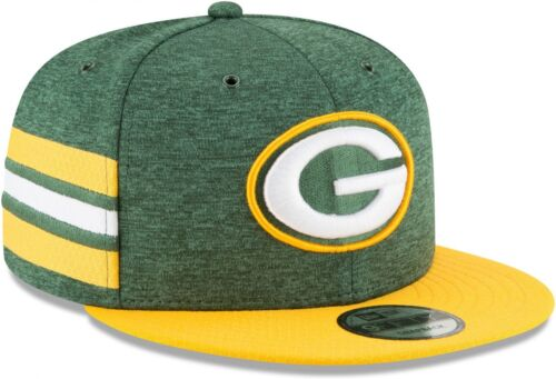 NEW Era-NFL Green Bay Packers 2018 Sideline Home 9 FIFTY Snapback Cap-Verde