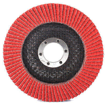 2Pc 4 Inch 80 Grit Angle Grinding Sanding Flap Wheel Disc 100mm