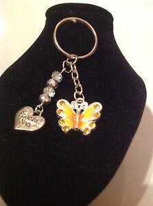 Special-nan-and-butterfly-key-ring
