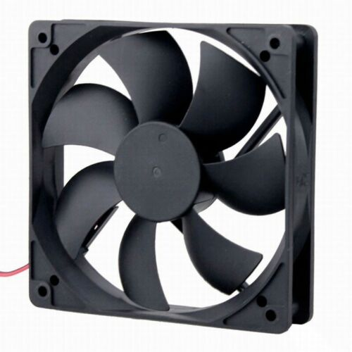 DC 24V 2Pin 120mm 120x120x25mm Brushless PC Computer Cooling Exhaust Sleeve Fan