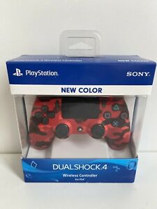 Sony DualShock 4 Wireless Controller for Playstation 4 Red Camo LIMITED EDITION