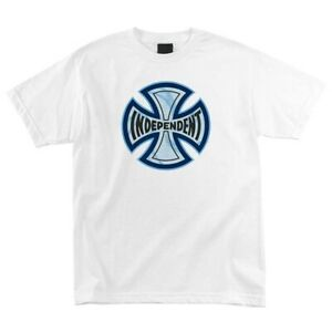 Independent Trucks WIDOW Skateboard T Shirt WHITE XXL