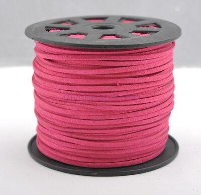 5Yards 100Yards Soft Velvet Korea Frosting Cord Thread For DIY Bracelet Necklace