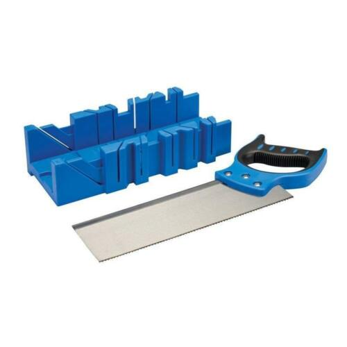 Silverline 335464 Mitre Box And Saw 300 X 90 Mm
