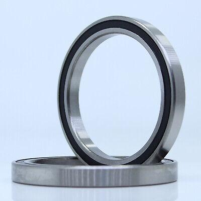 80x100x10 mm 6816-2RS Black 6816RS Metal Rubber Sealed Ball Bearing 5 PCS