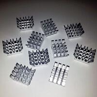 10 x Aluminium Memory Chip Cooler Aluminium Heatsink  DDR RAM UK