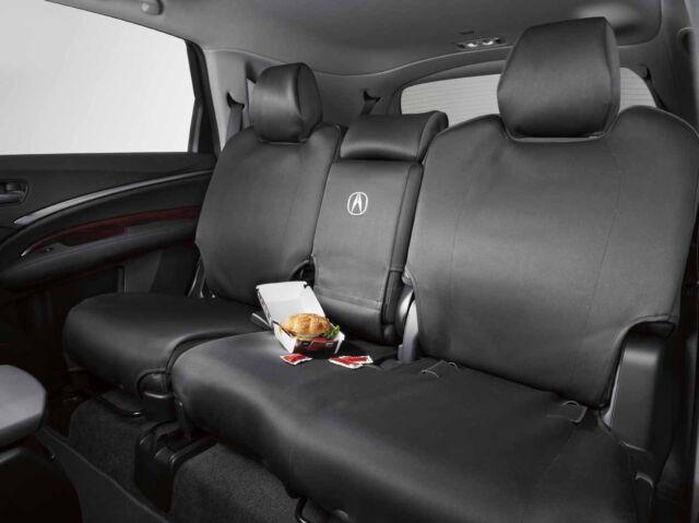 genuine acura mdx 2nd row seat cover protector set 2014 2017 08p32 tz5 221 oem ebay. Black Bedroom Furniture Sets. Home Design Ideas