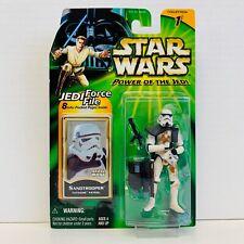 "Imperial Sandtrooper Tatooine Patrol /""Anh/"" Star Wars Power of the Jedi HASBRO"