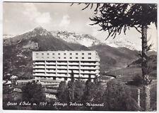 0070 TORINO SAUZE D'OULX SALICE D'ULZIO - ALBERGO MIRAMONTI Cartolina viagg 1962