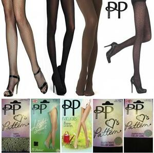 263d1064006add Image is loading NEW-PRETTY-POLLY-LADIES-WOMENS-TIGHTS-BROWN-BLACK-