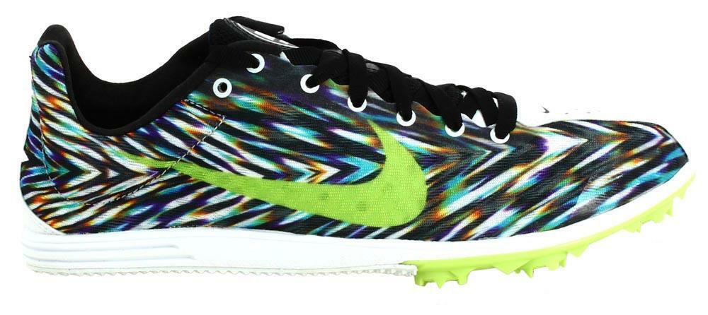 Nike Men's Zoom Rival White D 8 Running Track Trainers Shoes Green White Rival Pattern UK 12 d8b1ef