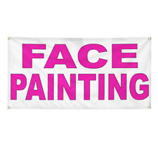 Vinyl Banner Multiple Options Face Painting Outdoor Advertising Printing Outdoor