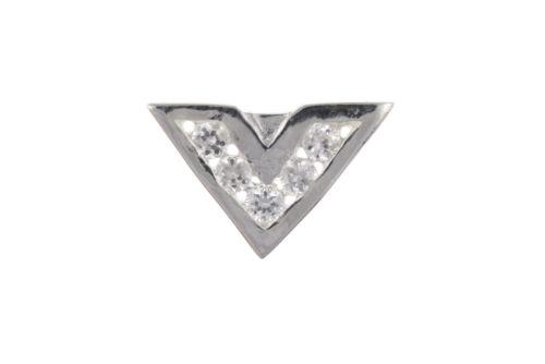 Para Hombre Aretes Pendientes de plata esterlina circonia cúbica Caballeros