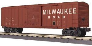 MTH-RailKing-Milwaukee-Road-50-039-Modern-Box-Car-30-74812-O-Gauge-Model-Trains