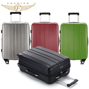 Sale Large Suitcase 20 24 28 inch Hard Shell Trolley Luggage ABS  ...