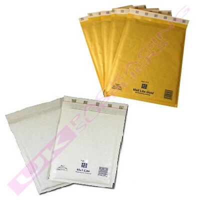 K/7 350 x 470mm MAIL LITE SEALED AIR PADDED ENVELOPES OFFER *SELECT COLOUR+QTY*