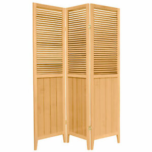 Oriental Furniture 6 Ft Tall Beadboard Room Divider Ebay