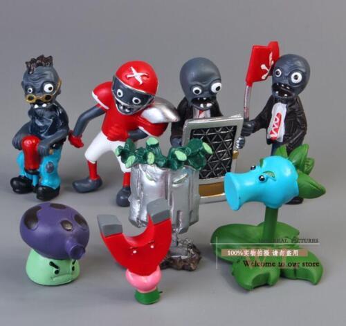8pcs Set  Figurine Plants vs Zombies PVC Action Figures Collectibles Toys Game B