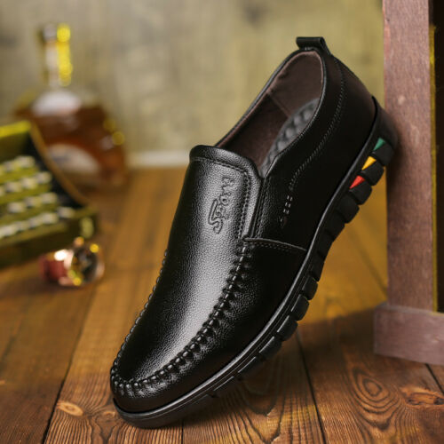 Men Formal Dress Shoes Wingtip Oxford Leather Brogue Business Shoes Fashion