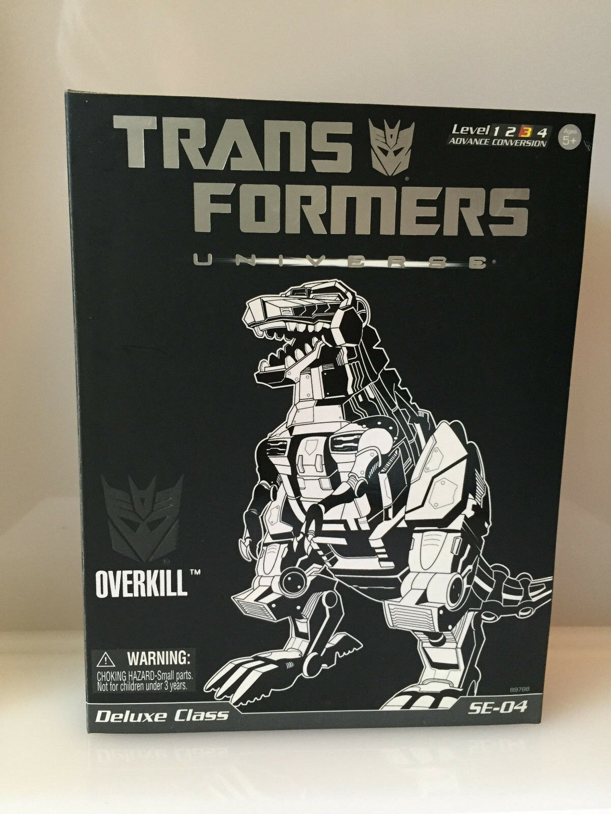 Hasbro Transformers Universe Deluxe OVERKILL Special Edition 2008 SE-04 NEW MISB